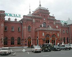 Железнодорожный вокзал Казани